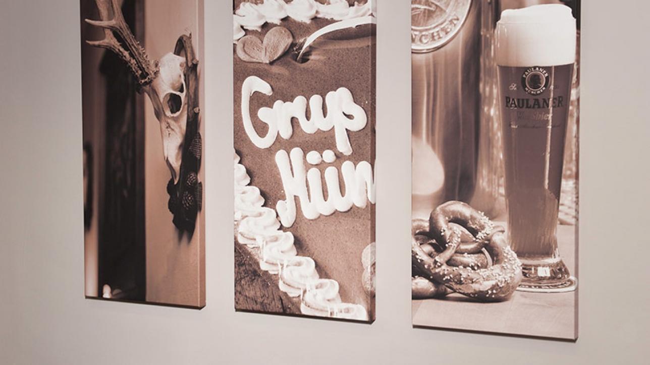 Wirkungsvolle Wandgestaltung mit Bildern - Hanna Raissle